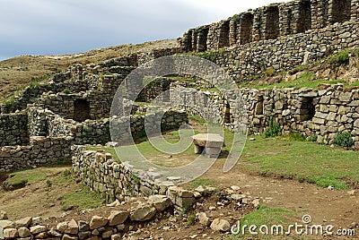 Inca ruins, Bolivia