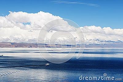 Inca ruins, Isla del Sol, Titicaca lake, Bolivia