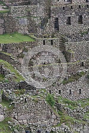 Inca Ruins in Machu Picchu