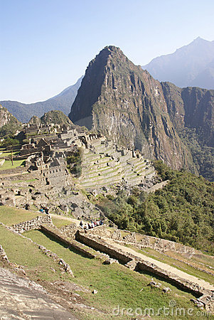 Inca ruins  Machu Picchu, Peru