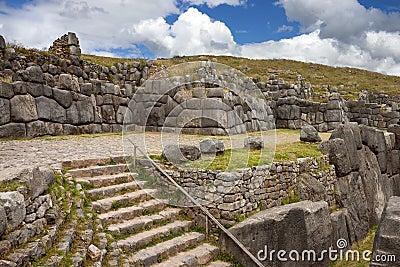 Inca stonework - Sacsayhuaman - Peru