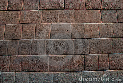 Inca wall detail