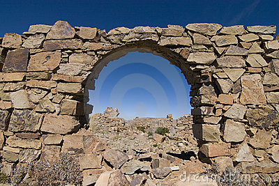 Incan arch