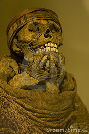 Incan mummy Editorial Photography