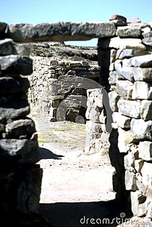 Incan ruins- Bolivia