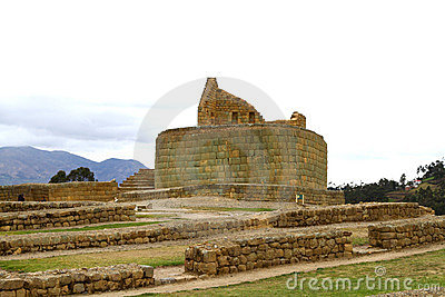 Incan ruins at Ingapirca