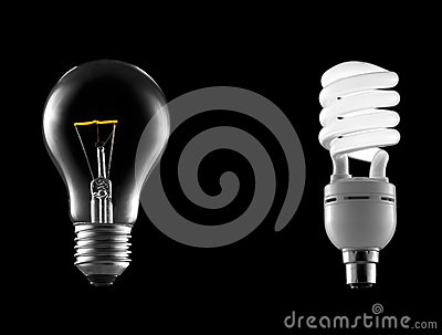 Incandescent Bulb with Energy Saver
