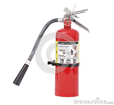 Incendie d extincteur