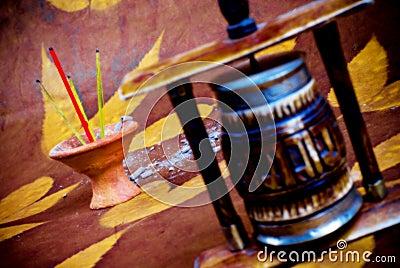 Incense and mandala