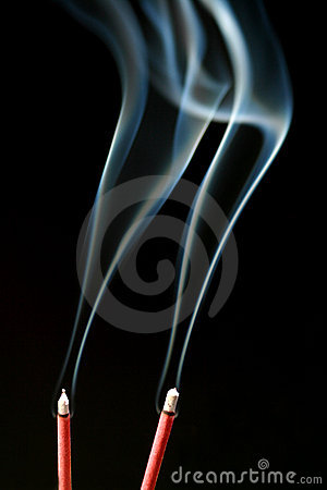 Free Incense Smoke Stock Images - 2344874
