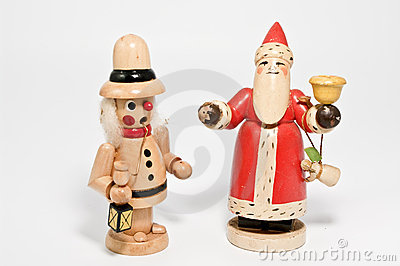 Incense smoker and santa claus