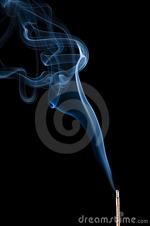 Free Incense Stick Smoke Stock Images - 6245404