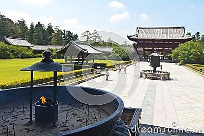 Incense in Todai-ji Temple of Nara,Japan
