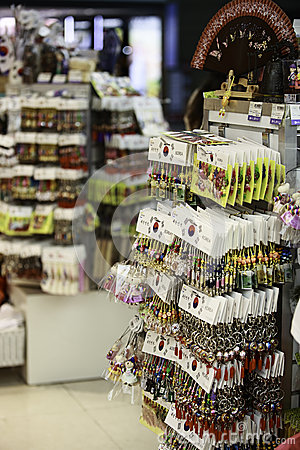 Incheon Airport Gift Shop Editorial Stock Image