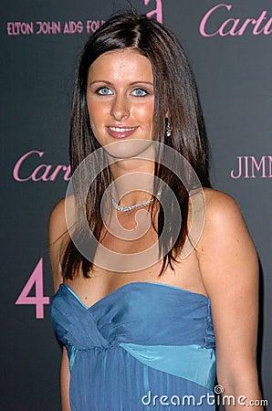 Nicky Hilton Editorial Stock Image
