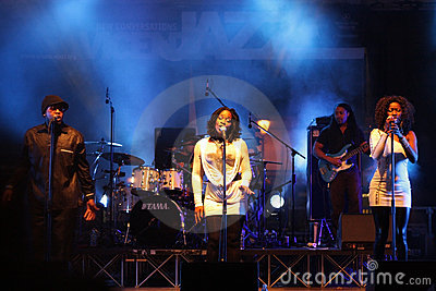 Incognito Band at Vicenza Jazz Festival Editorial Image