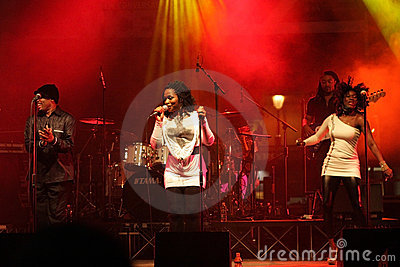 Incognito Band at Vicenza Jazz Festival Editorial Stock Image