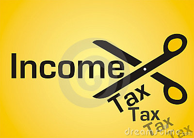 Income tax cut