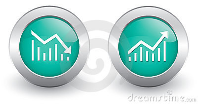 Increase decrease Icons