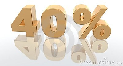 Increase percentage