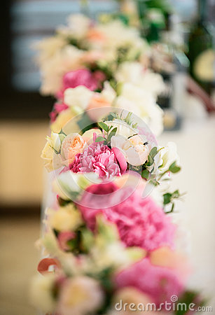 Free Incredible Bouquet Of Delicate Flowers For Wedding Royalty Free Stock Photo - 59626095
