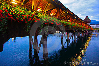 Incredible Chapel Bridge of Luzern
