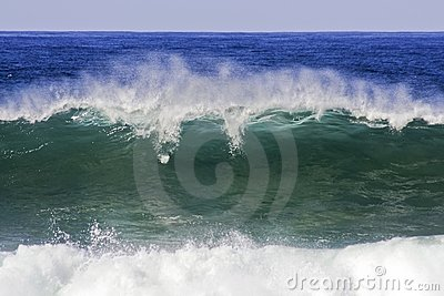 Incredible oceanic wave