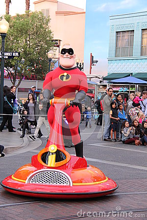 The Incredibles Editorial Photo
