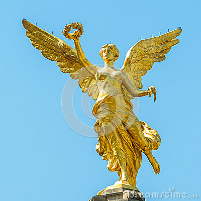Free Independence Angel, Mexico City Royalty Free Stock Photography - 51901067