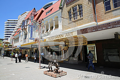 Independence Ave. Windhoek Editorial Stock Photo