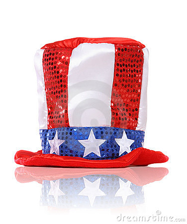 Free Independence Day Holiday Hat Stock Images - 5872074