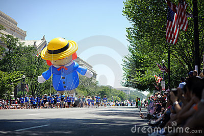 Independence Day Parade Editorial Photo