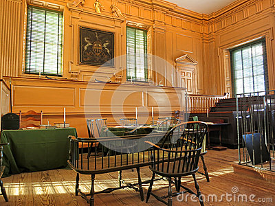 Independence Hall in Philadelphia Pennsylvania Editorial Image