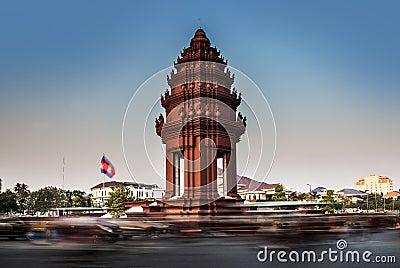 Independence Monument, Phnom Penh,Cambodia