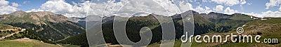 Independence Pass panorama