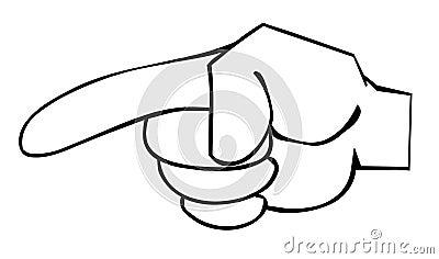 Index finger