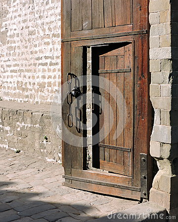 India Architecture Exterior Door Kangra Fort