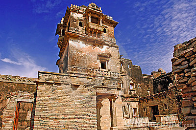 India; Chittorgarh; citadel