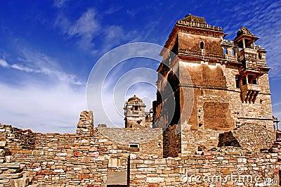 India, Chittorgarh: Citadel