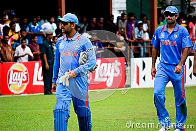 India cricket team Editorial Stock Image