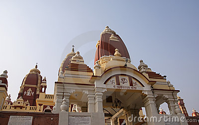 India, Delhi,religious Hinduism temple complex