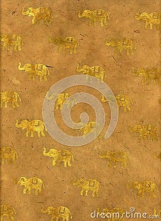 India Elephant Paper