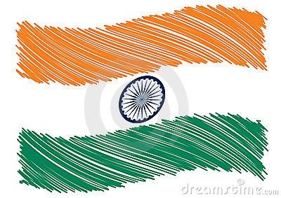India flag art
