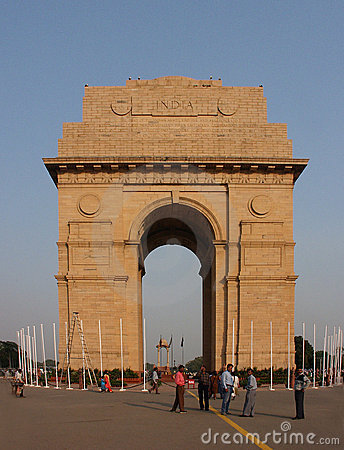 India Gate Editorial Stock Image