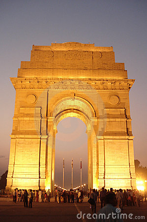 Free India Gate Stock Photography - 3796532