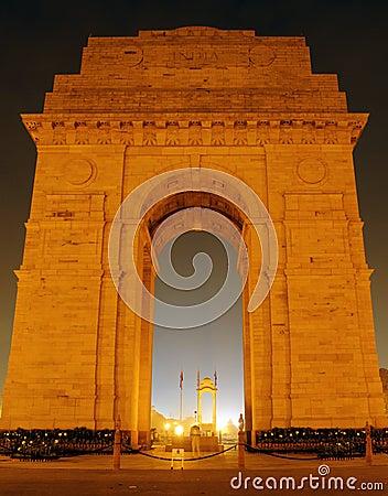 Free India Gate, New Delhi Stock Photo - 19141750