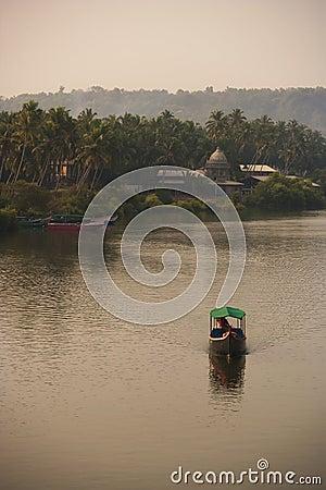 India - Goa - Mandovi river