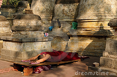India - Mahabodhy Temple Editorial Image