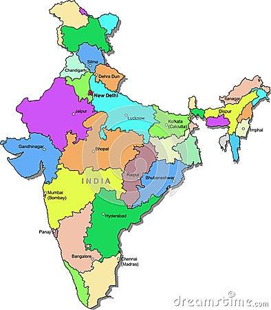 India map