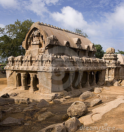 India - Panch Rathas - Mamallapuram